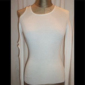 Dirk Bikkembergs Arm Cut Out Ribbed Knit Pullover